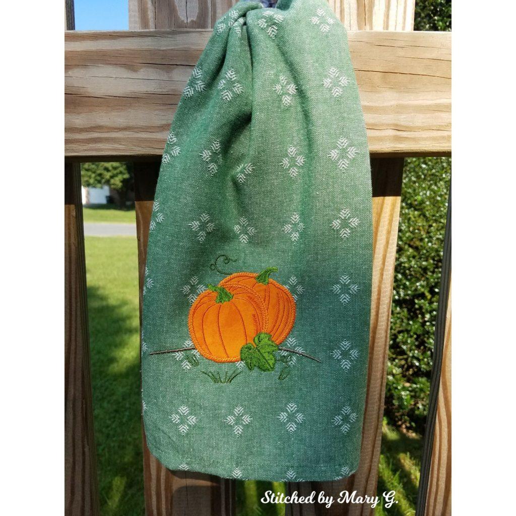 pumpkins for applique